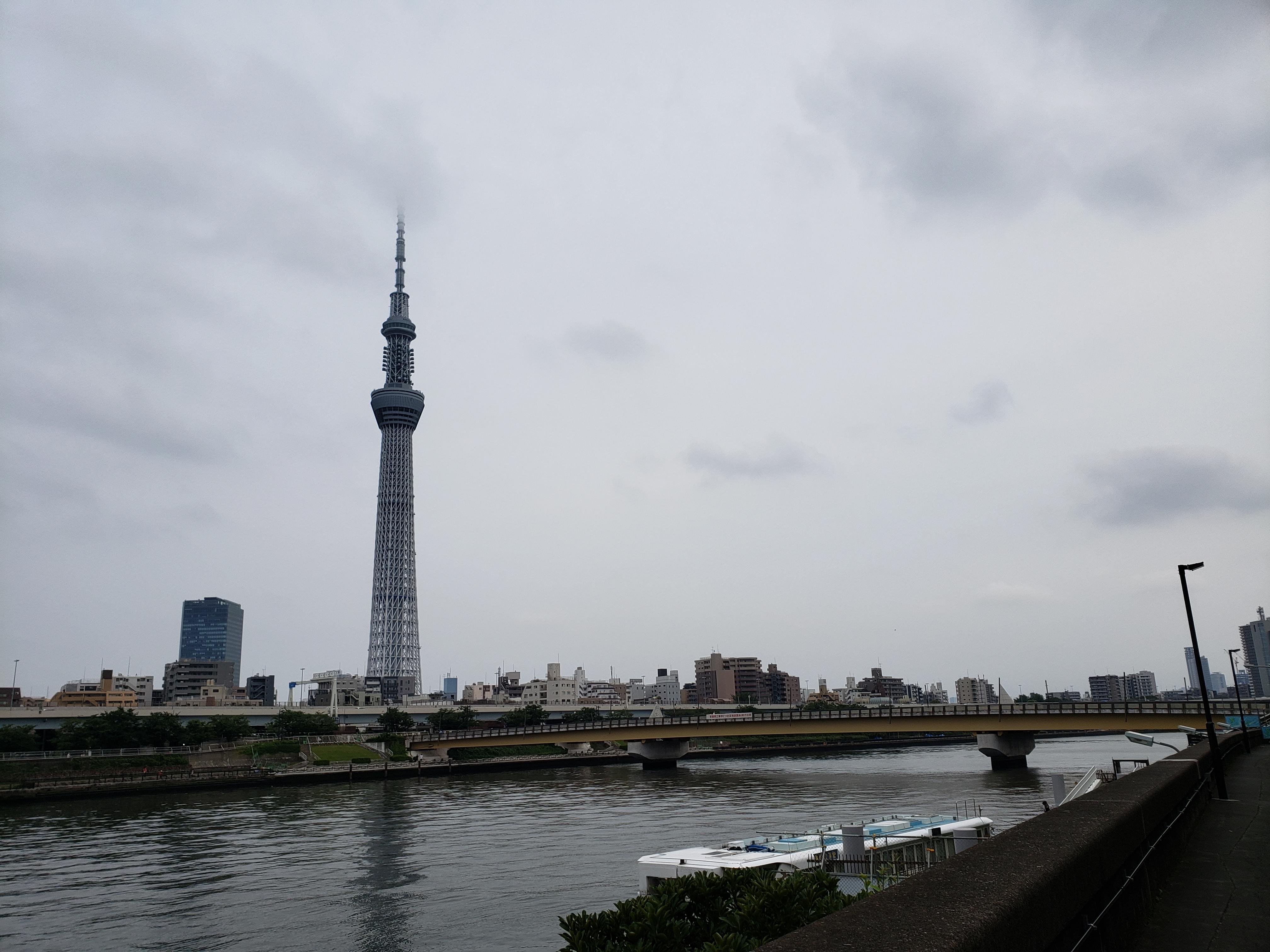 隅田公園に散歩にいってきた