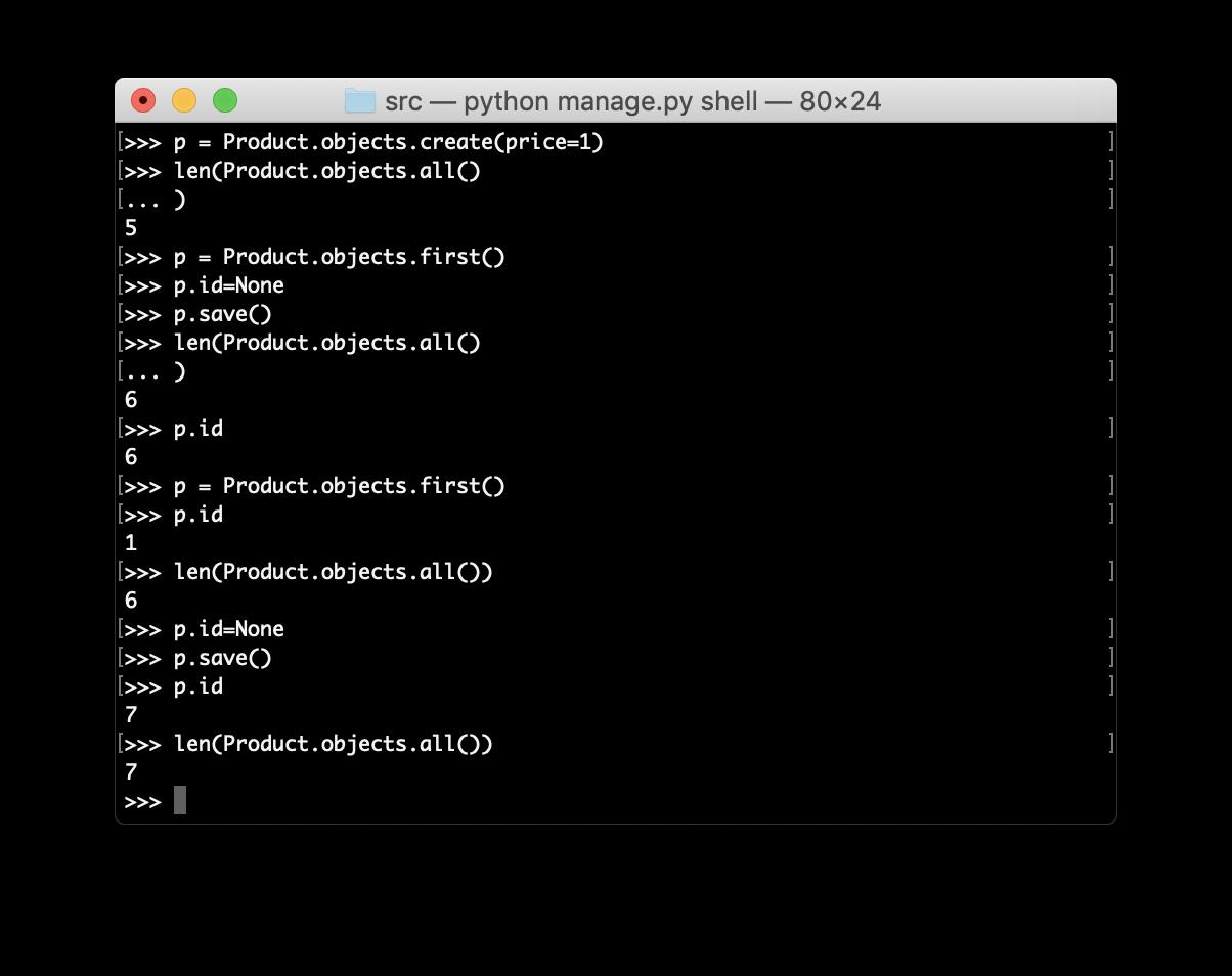 Pythonのmodelsのデータをコピー、複製する方法