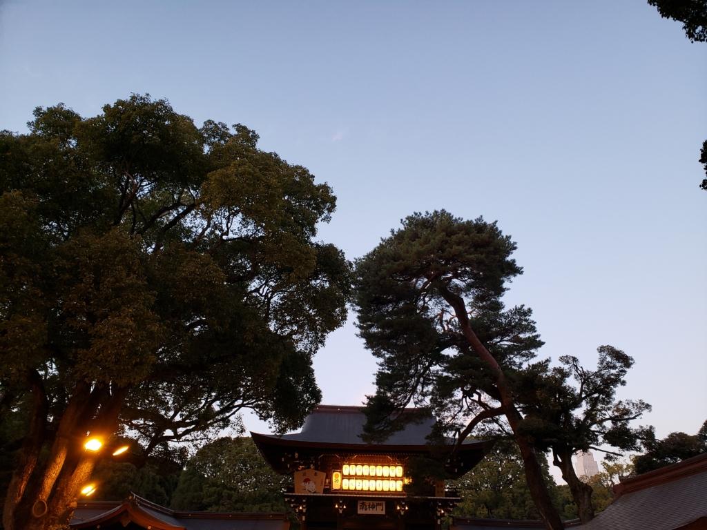 明治神宮へ初詣に行った感想
