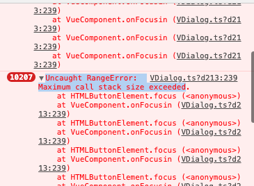 Veutifyでv-forの中にdialogを入れると無限ループが発生する
