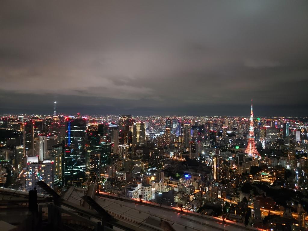 東京タワー 東京スカイツリー