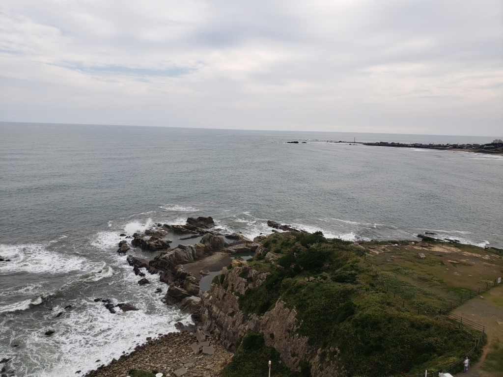 犬吠埼灯台から見える景色